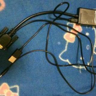 USB HIDM パソコンの動画他テレビに映すケーブル早い者勝ち