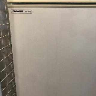 【お取引決定済】SHARP 冷蔵庫 137L 2ドア SJ-T1...