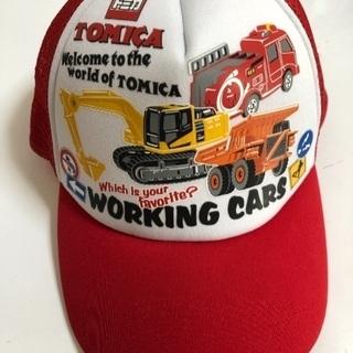 新品☆子供帽子☆トミカ☆52㎝