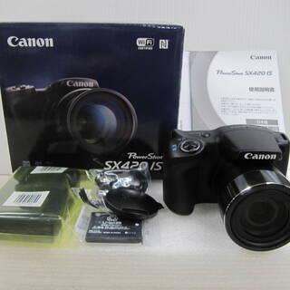 📸新品 Canon PowerShot SX420 IS コンパ...