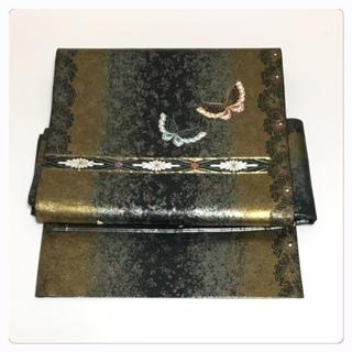 美品 未使用 特選 高級袋帯 二部式仕立て 二重太鼓 作り帯 ...