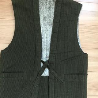 袖無しの羽織り物   Mサイズ男女兼用