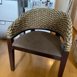 【取りに来てくれる方】椅子2つ