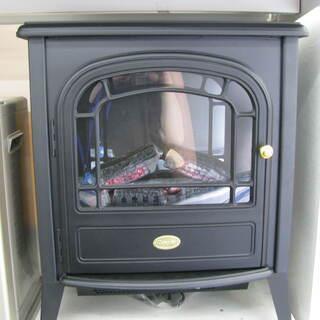 【おしゃれ必見】暖炉型電気ヒーターです!!