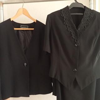 黒 ホーマル スーツ 3点セット