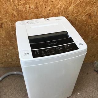 AQUA 5キロ 洗濯機 14年製