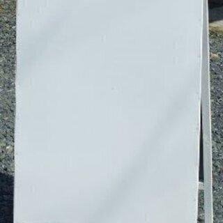 【ネット決済・配送可】【新品】白無地A型看板ワイド(全長1m・書...