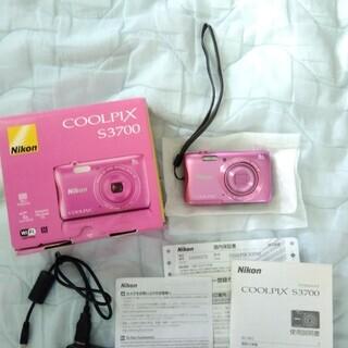 Nikon デジタルカメラ COOLPIX S3700 (ピンク)