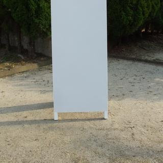 【新品】格安無地A型看板スリム(全長1m・書込可・屋外可)