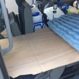 シエンタ 車内泊 ベッド (フレームと上板のみ)