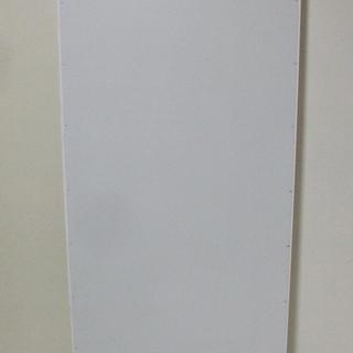 【ネット決済・配送可】【新品】白無地・トタン・立看板・スリム(全...