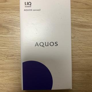 【新品未使用】AQUOS sense 2 ニュアンスブラック S...