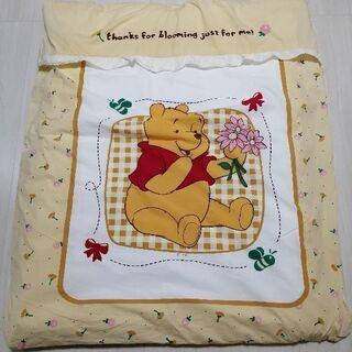 くまのプーさん 冬用 ベビー掛ふとん 保育園昼休み布団 子供用かけ布団