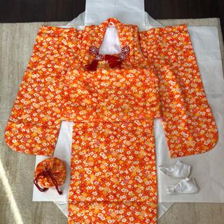 別途価格交渉可!七五三(3歳用)着物を5千円でお譲りします!