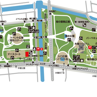 GPS鬼ごっこ2 11/10(日)10:00~ 木場公園