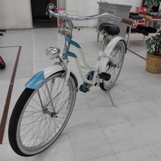 自転車 ビーチクルーザー   ビーチサイクル ペパーミントグリー...
