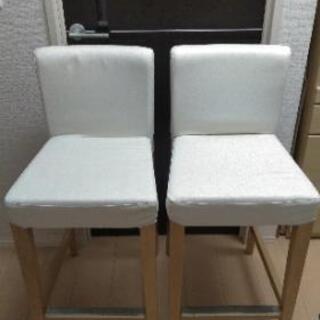 椅子×2 IKEA