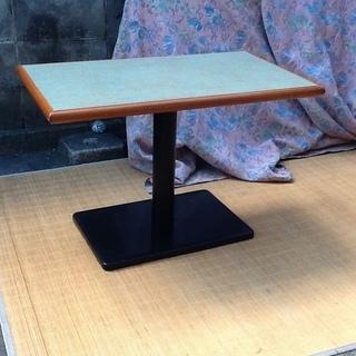 懐かしい1本脚テーブル 高さ55㎝ 店舗、喫茶、カフェ、業務用机...