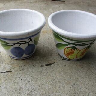 ポット 植木鉢 2個