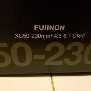 値下げ!【新品】FujifilmXC50−230mm [交換レン...