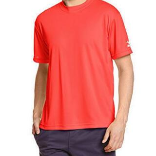 (ミズノ) Tシャツ 色: チャイニーズレッド新品