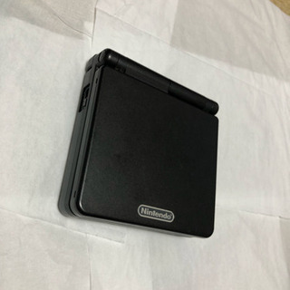 ゲームボーイアドバンスSP黒 充電器、通信ケーブル付き