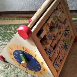 ◆大きい知育おもちゃ◆アイムトイ◆7種の遊び◆