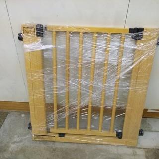 木製ベビーゲート ロック機能付き(入って欲しくない場所や部屋 階...
