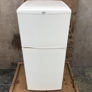 【配送無料】東芝 120L 冷蔵庫 GR-R12T