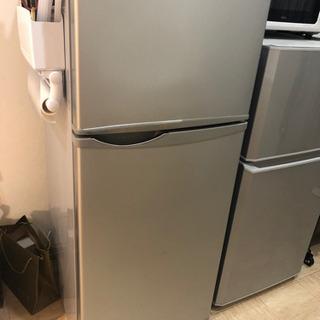 【無料】SHARP 118L冷蔵庫