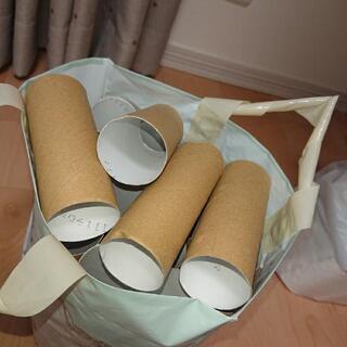 トイレットペーパーの芯(茶色)