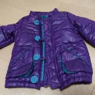 【値下げ】乳幼児用 アウター(紫) 80サイズ