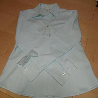 長袖(水色)Mサイズ ブラウス