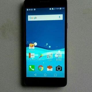 au Qua phone PX LGV33 ネイビー