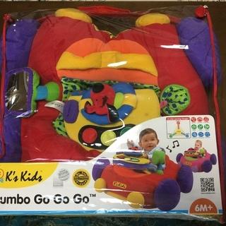車クッション jumbo Go Go Go! K's Kids