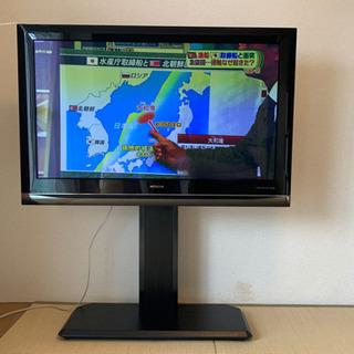 ハードディスク録画機能あり46型プラズマテレビ