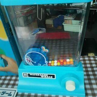 トミーウォーターゲームくじら初期版新品未使用超レア物