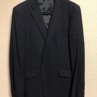 2パンツスーツ ネイビー 大きいサイズ
