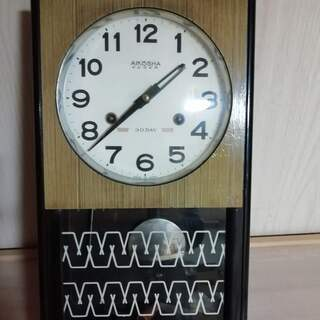 愛工舎 掛け時計 柱時計 振り子時計 今のところ動かないです