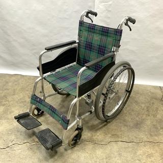 美品! 松永製作所 自走式 車いす 使用者最大体重(含積載…