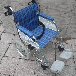 カワムラサイクル スチール製介助用車椅子 車いす  KHS