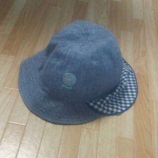 キッズ用 帽子 48㎝ ゴム紐つき