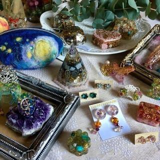 ハンドメイドアクセサリー・雑貨小物と天然石、癒しのセッション