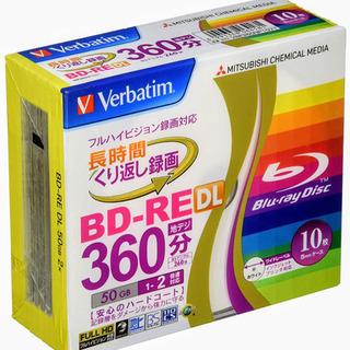 【開封済未使用】 くり返し録画用 BD-RE 三菱ケミカルメディ...