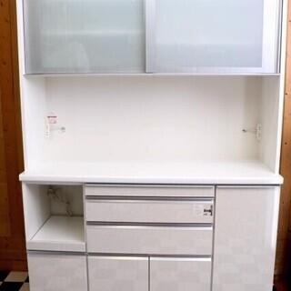 キッチンボード 1400×485×2050 レンジボード 食器棚...