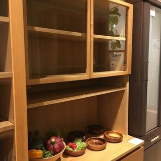 無印良品 食器棚 収納棚 ナチュラル 中古品