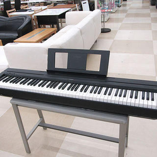 YAMAHA ヤマハ 電子ピアノ P-45B 2016年製 88...