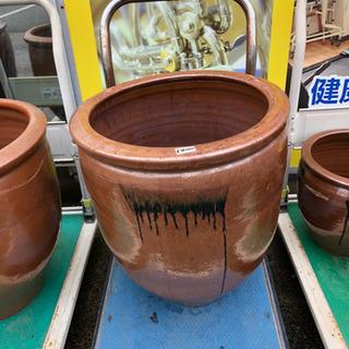 【割れるので発送不可です】漏れ・割れなし◆大型◆水甕◆壺◆メダカ...