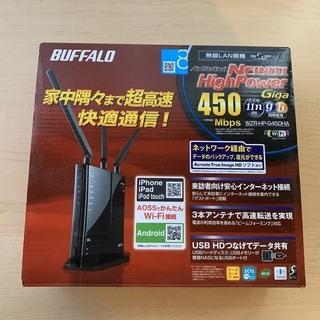 BUFFALO 無線LANルーター 親機 WZR-HP-G450HA