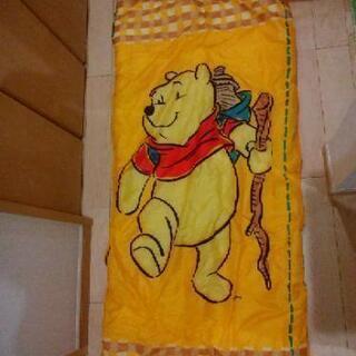 ロゴス LOGOS 寝袋 スリーピングバッグ プーさん pooh 2個